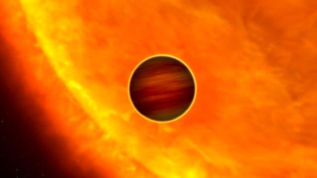 Höllenritt um einen Stern - der Exoplanet CoRot-1b
