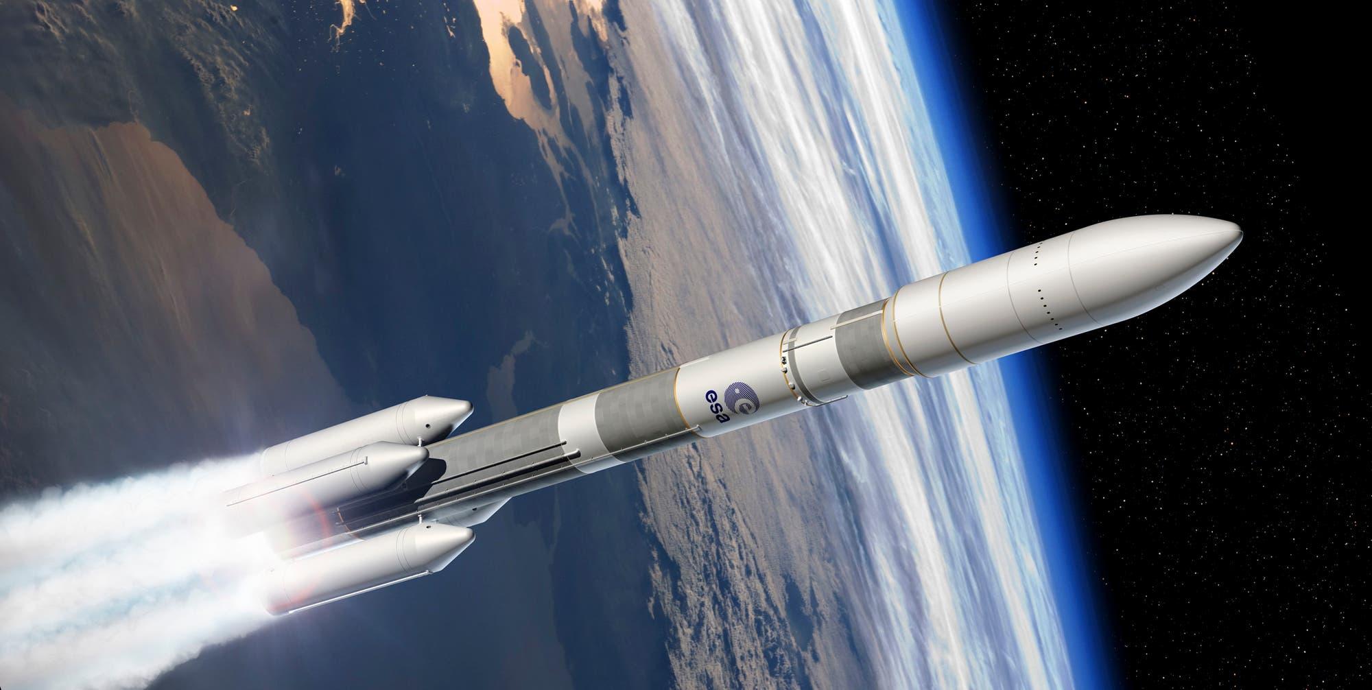 Die Trägerrakete Ariane-6 soll schwere Lasten für Europas Raumfahrt ins All bringen