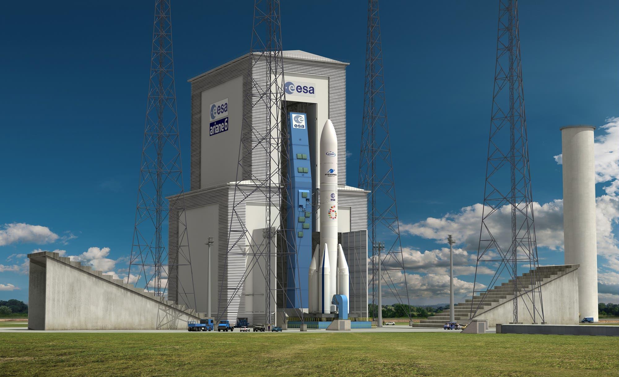 Die Ariane 6 soll ab dem Jahr 2021 die derzeitige Ariane 5 ablösen.