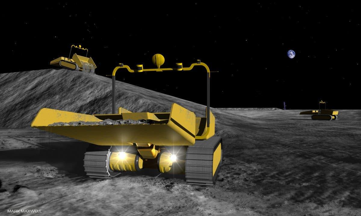 Astrobotic Moon Digger
