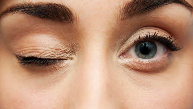 Augen sind wichtig beim Date