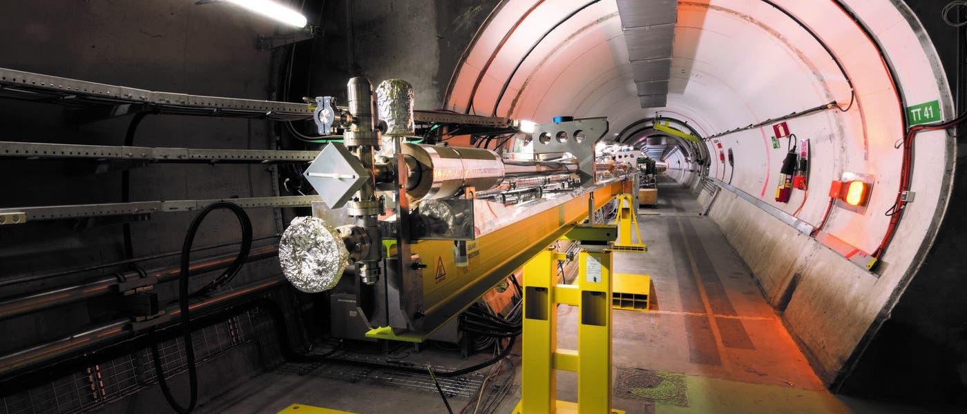 AWAKE-Plasmazelle am CERN