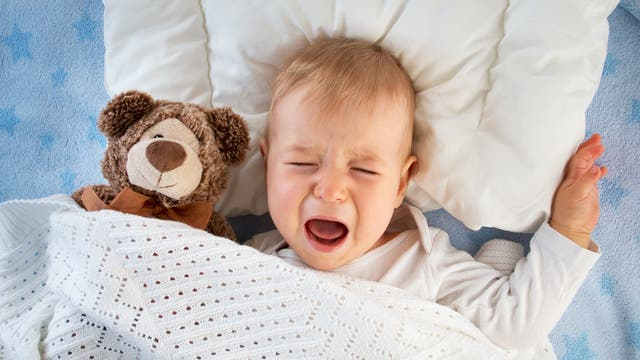In den Schlaf weinen