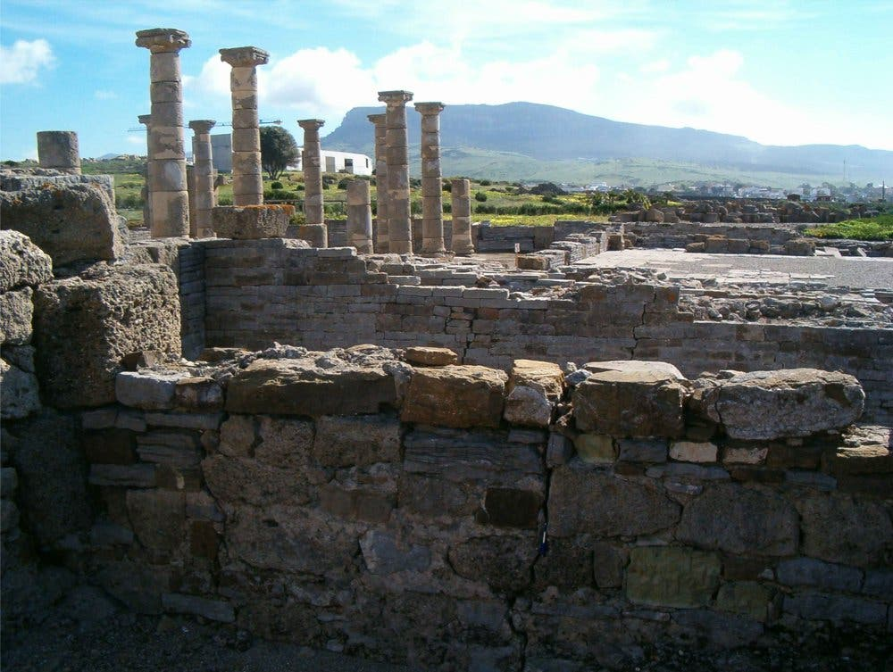 Narbige Ruinen