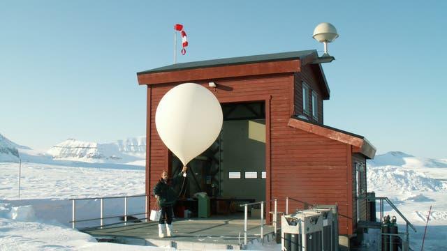Atmosphärenforschung mit Ballonen
