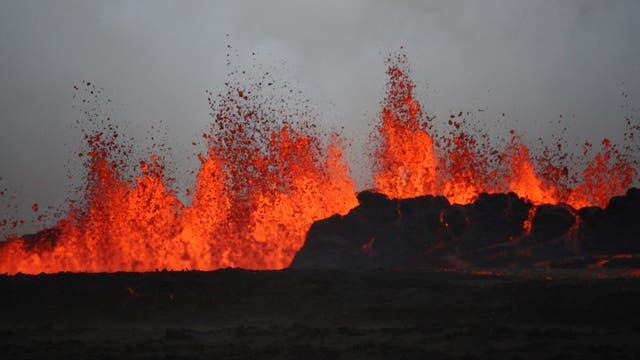 Ausbruch des Bárðarbunga