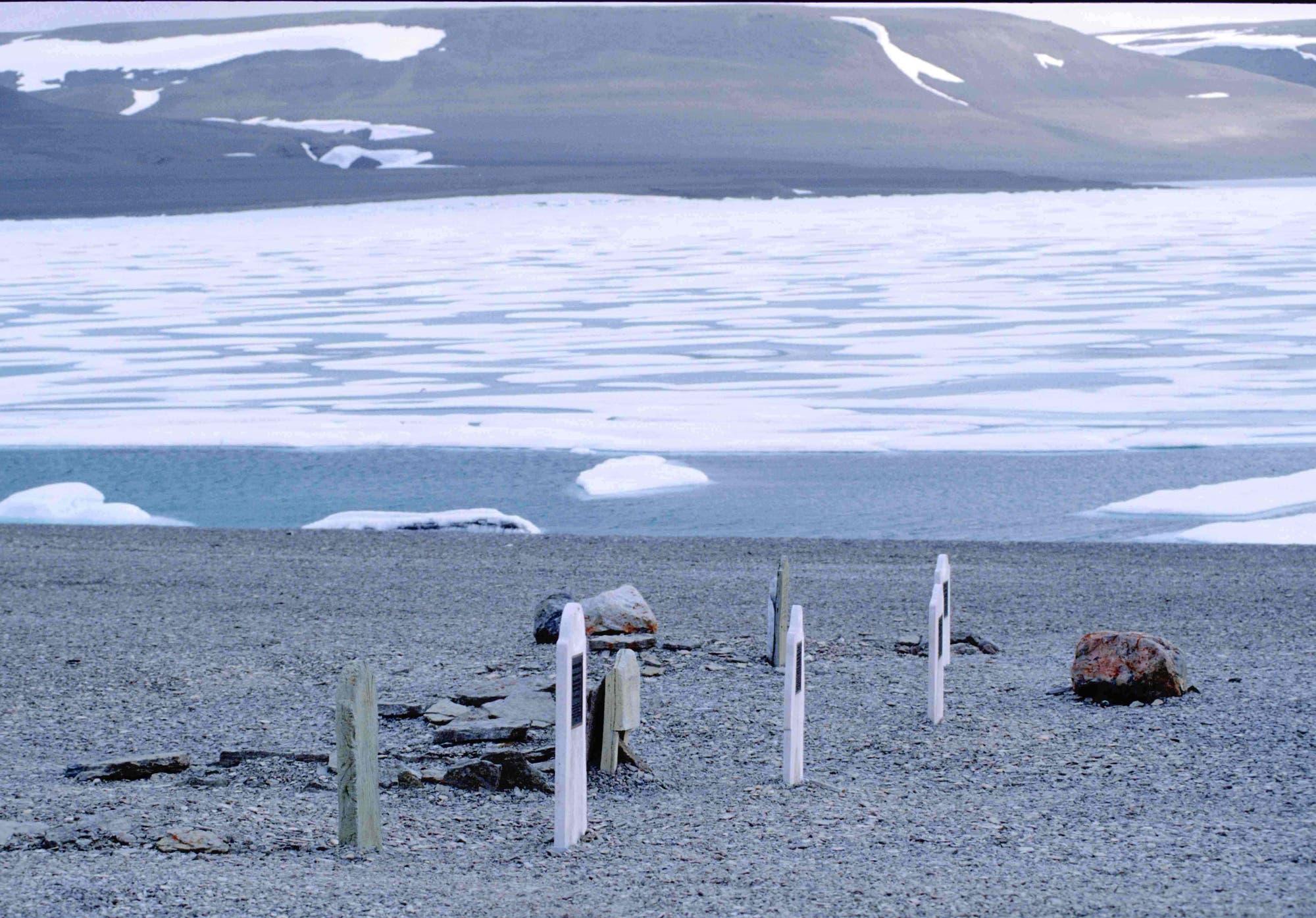 Gräber in der Arktis