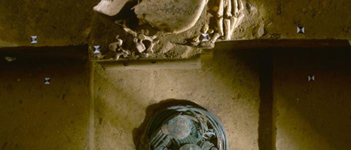 Schädelfund führte zu reichem Bronzehort