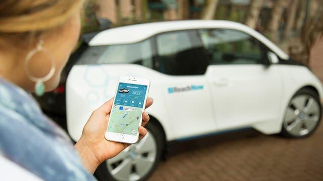 Carsharing-Angebot von BMW