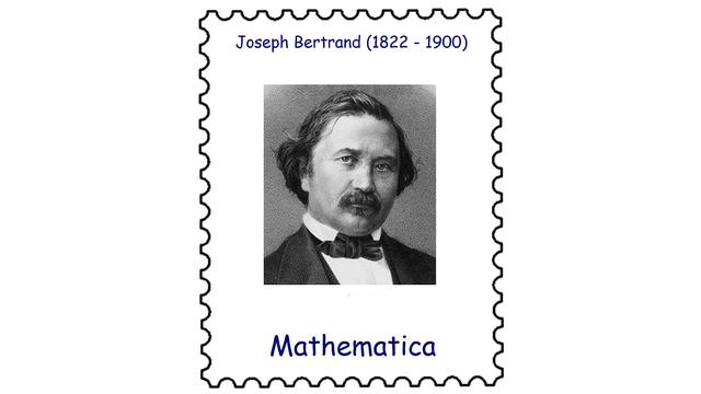 Joseph Bertrand (1822 – 1900)