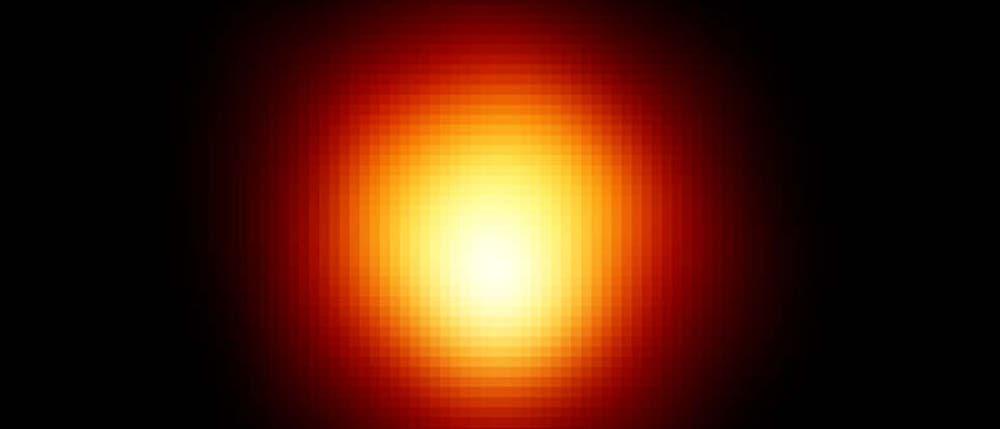 Der Riesenstern Beteigeuze im Orion