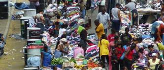 Markt auf den Kapverden, Kreol