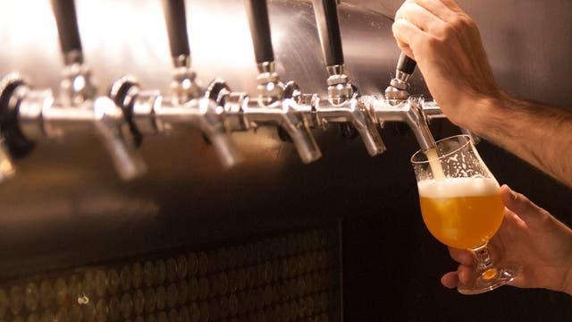 Bier - frisch vom Fass
