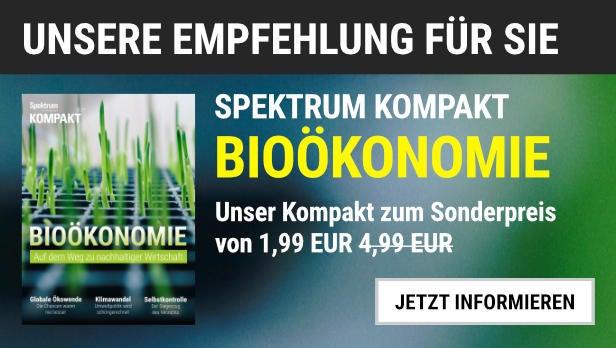 """Unsere Empfehlung: Das Spektrum Kompakt """"Bioökonomie"""" für 1,99 EUR statt 4,99 EUR"""