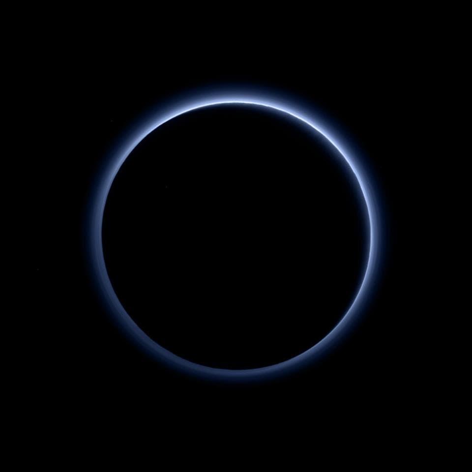 Plutos dünne Atmosphäre