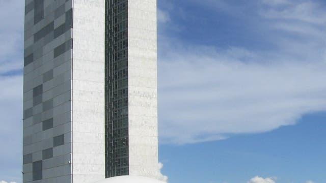Kongressgebäude in Brasilia