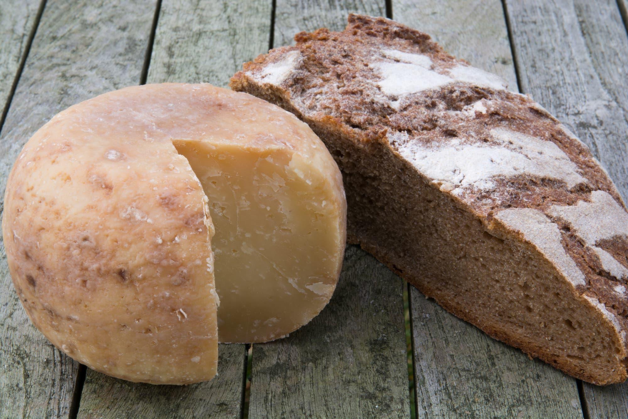 Brot und Käse