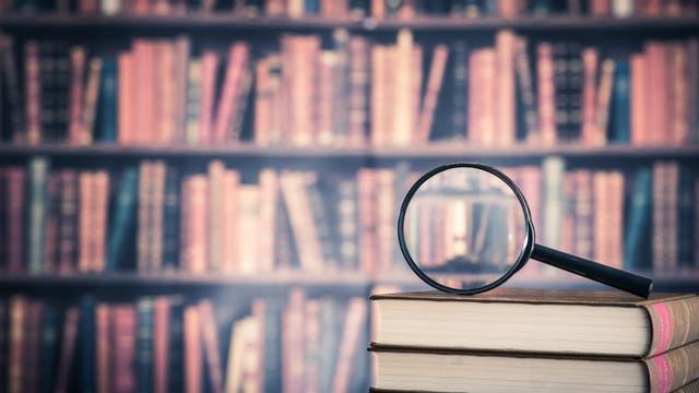 Bücher unter die Lupe genommen