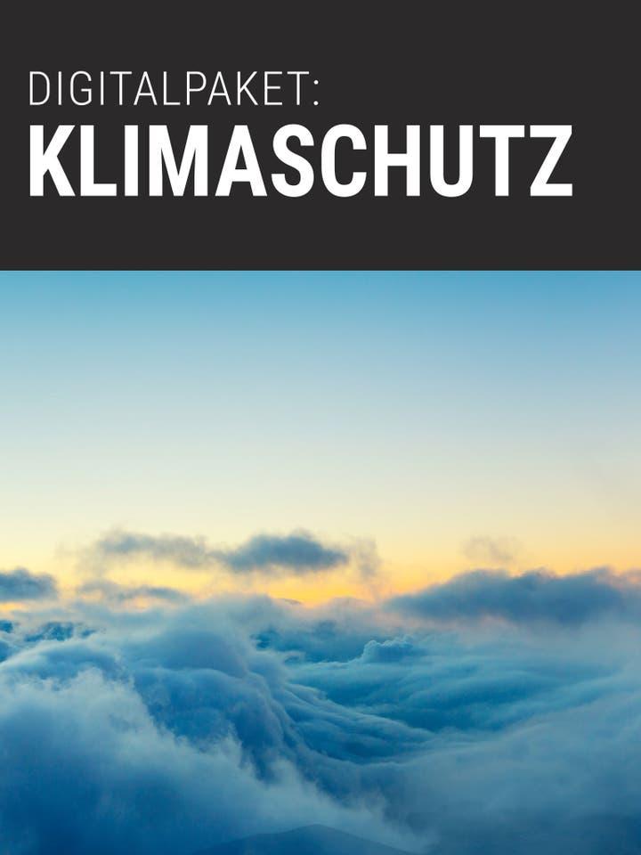 Spektrum.de Digitalpaket: Klimaschutz