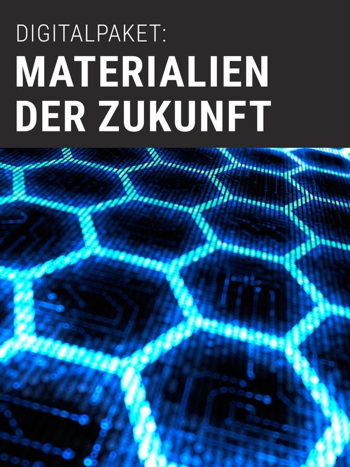 Spektrum der Wissenschaft Digitalpaket: Materialien der Zukunft