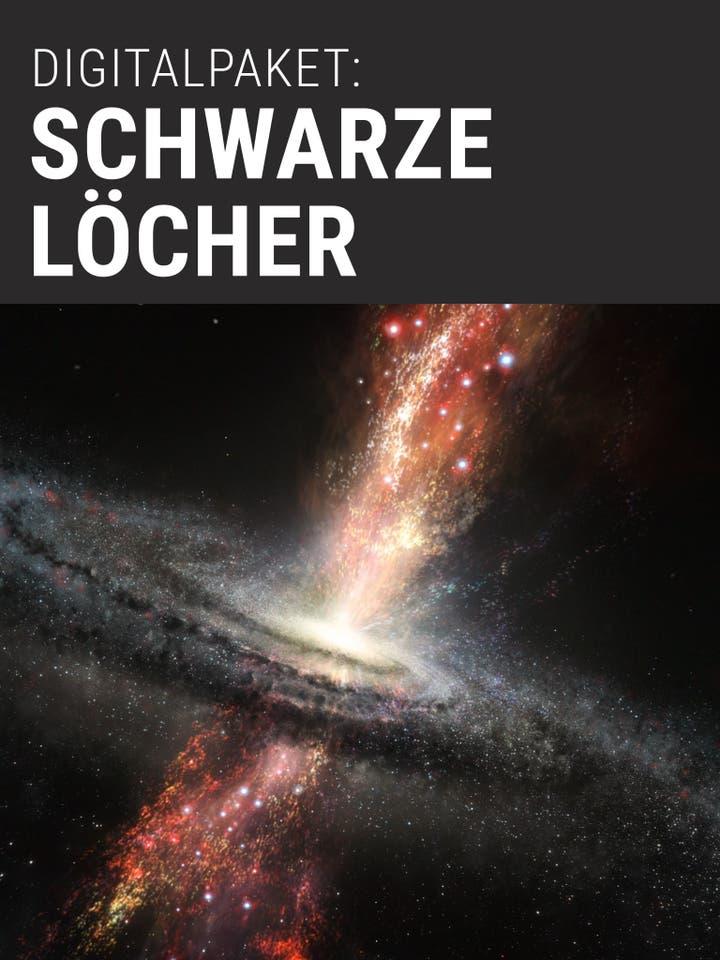 Digitalpaket: Schwarze Löcher Teaserbild