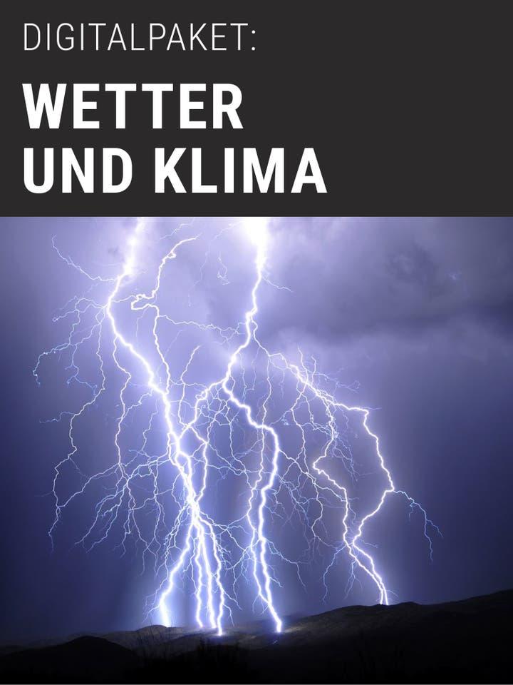 Spektrum.de Digitalpaket: Wetter & Klima
