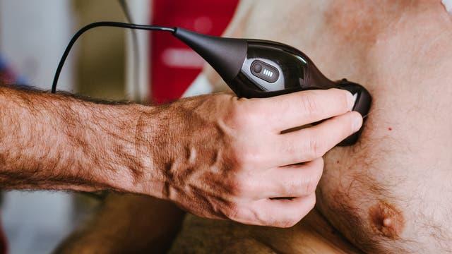 Tragbares Ultraschallgerät
