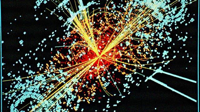Spuren des Higgs-Bosons