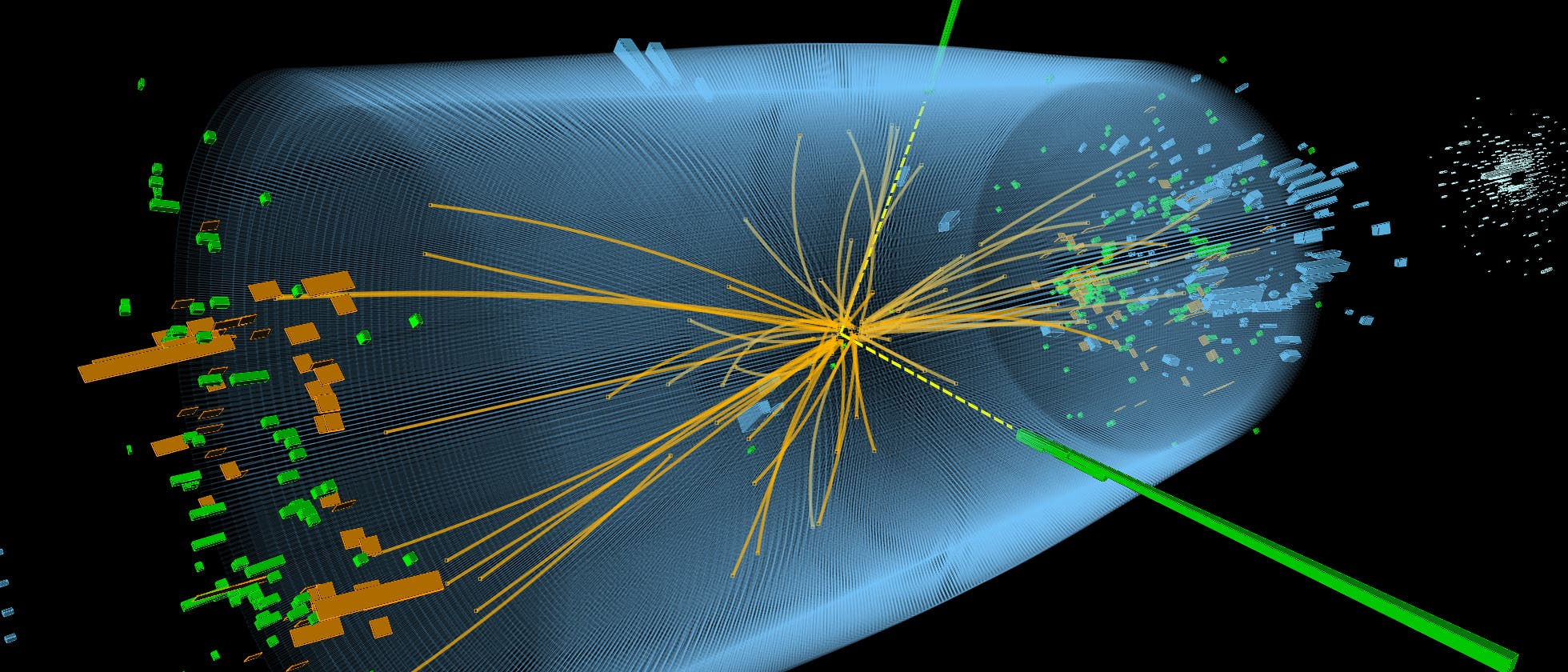 Protonenkollision CERN
