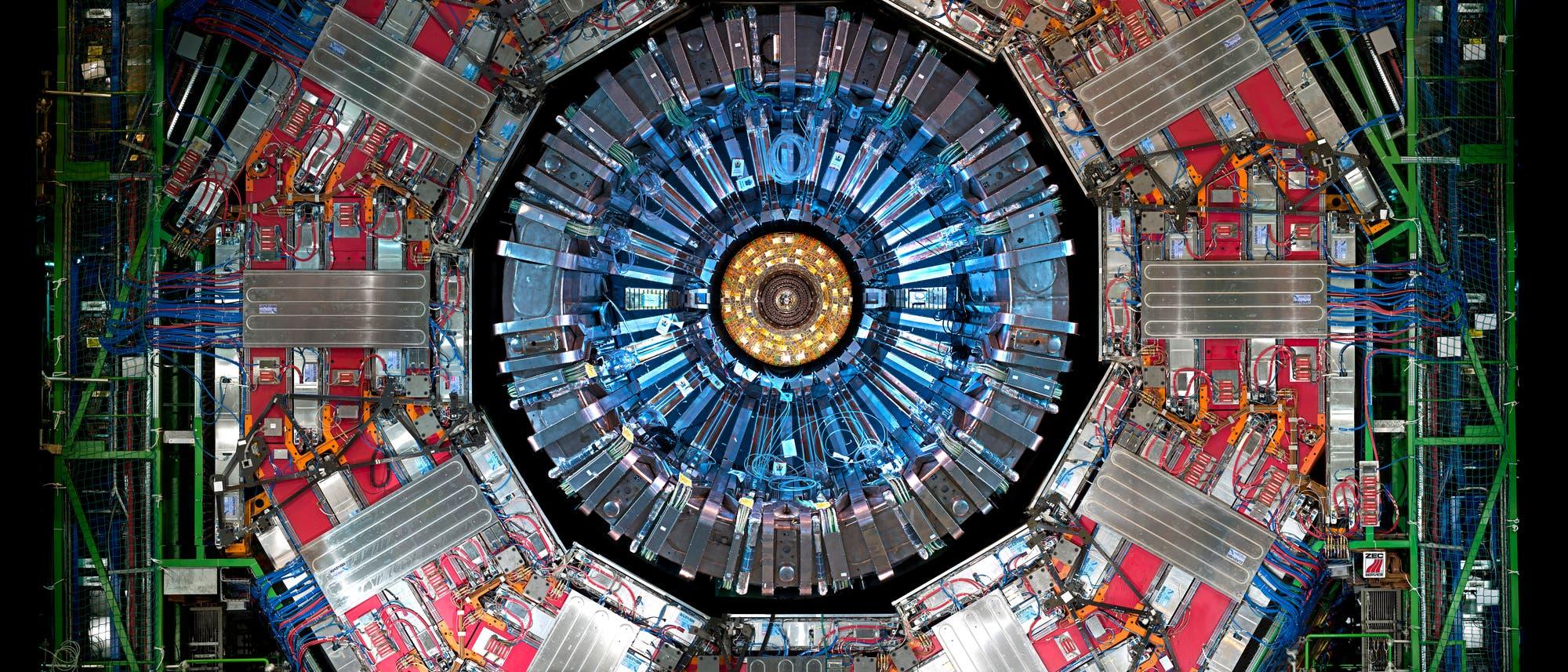 CMS-Detektor am Large Hadron Collider (LHC)
