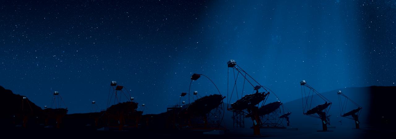 Teleskopenlandschaft