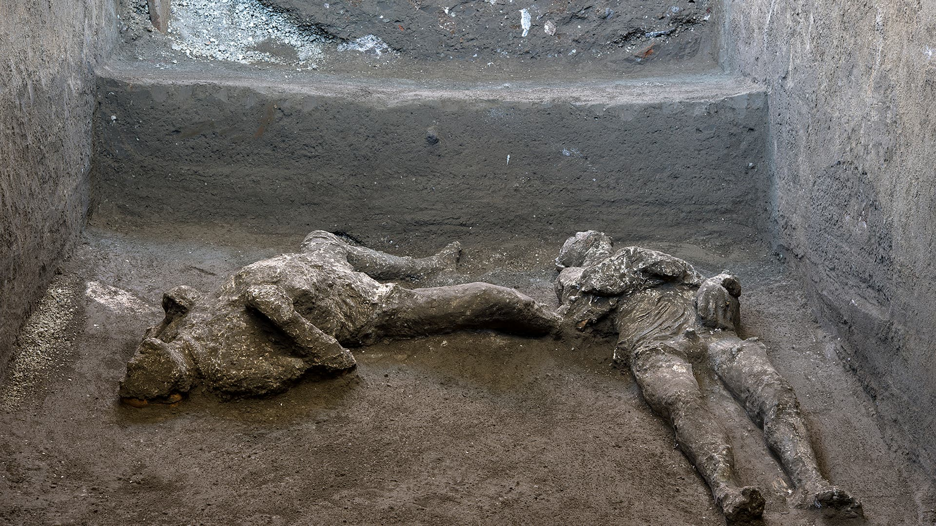 Frische Tote aus Pompeji