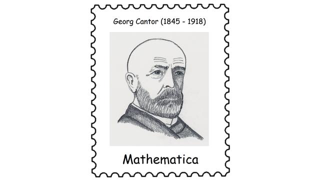 Georg Cantor (1845 – 1918)