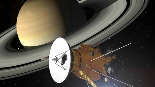 Cassini bei Saturn