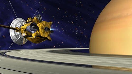 Die Raumsonde Cassini