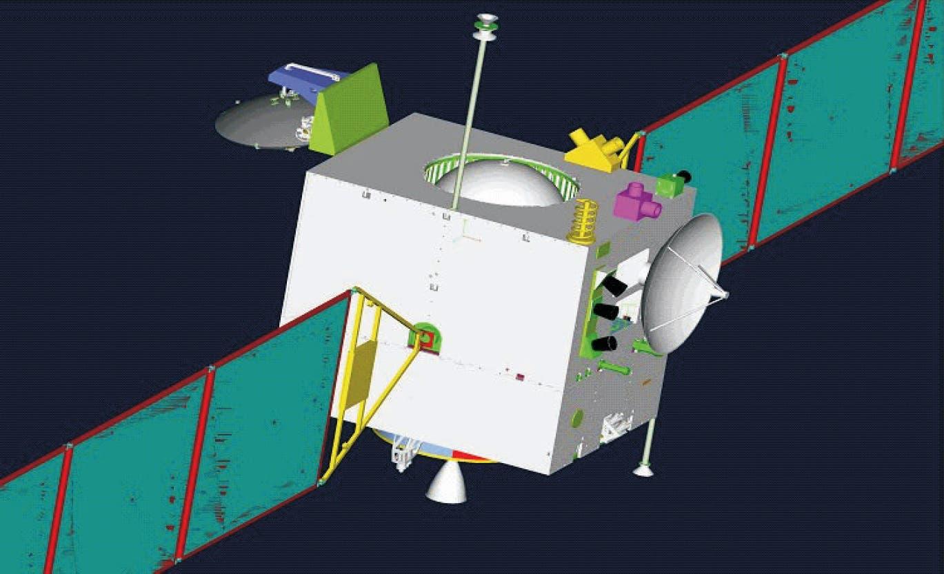 Chang'e 1 – die erste Mondfähre Chinas