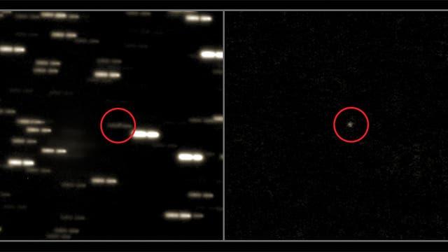 Rosettas Zielkomet am 28. Februar 2014