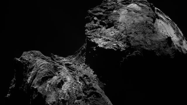 Komet 67P am 10. Dezember 2015