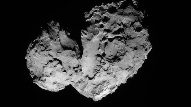 Komet 67P/Tschurjumow-Gerasimenko am 20. August 2014