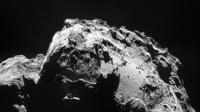 Komet 67P am 3. Januar 2015