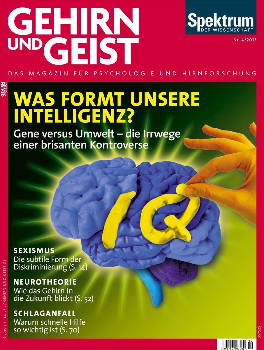 Aus Gehirn und Geist 4/2013 <br><a href=