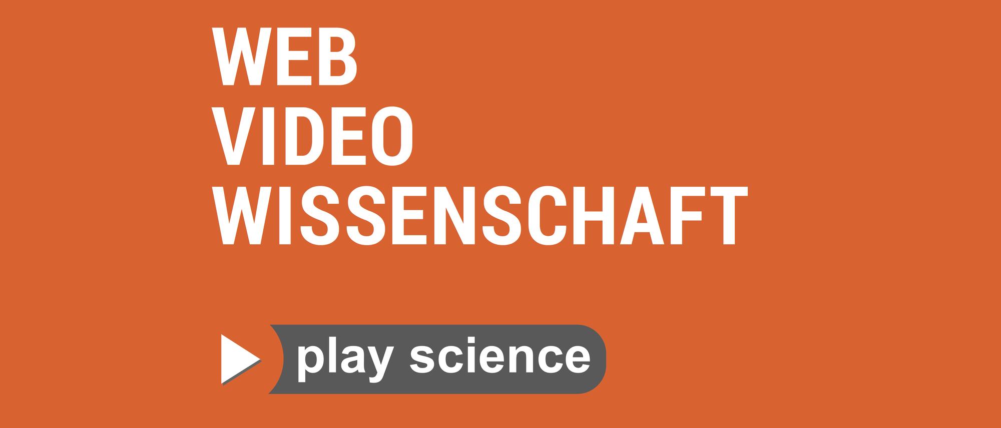 Web Video Wissenschaft - Cover