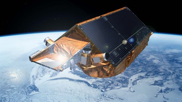 Eisforschungssatellit CryoSat-2