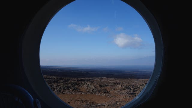 """Blick in die """"Marslandschaft"""""""
