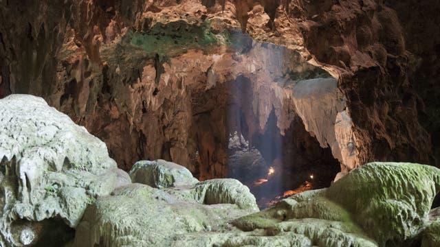 Blick in die Callao-Höhle