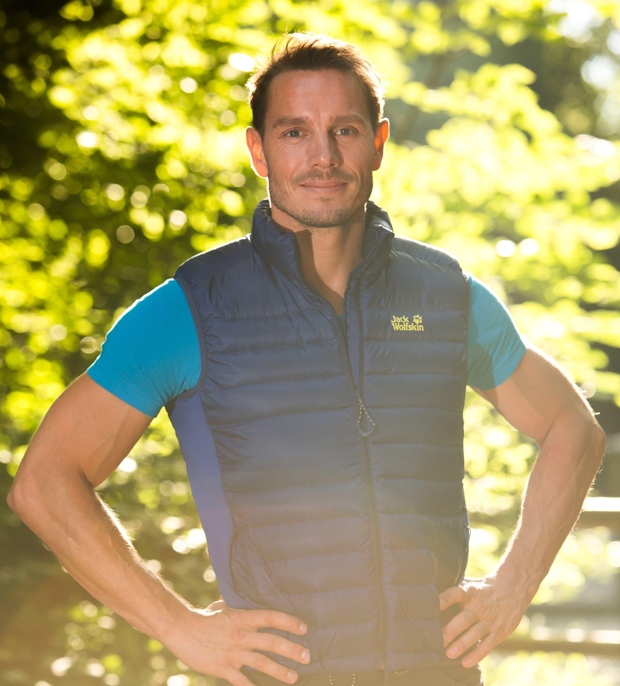 Sportwissenschaftler Daniel Gärtner von der TU München