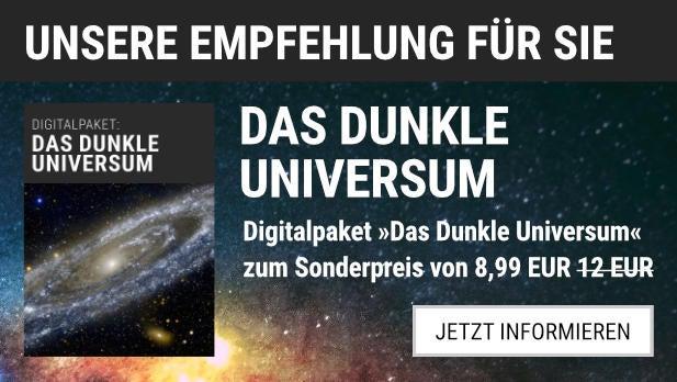 """Unsere Empfehlung: Das Digitalpaket """"Das dunkle Universum"""" für 8,99 EUR statt 12,00 EUR"""