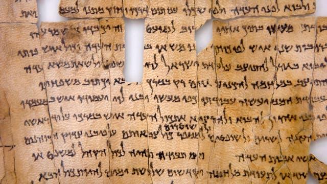 Schriftrolle vom Toten Meer - ein Fragment aus dem Buch Jesaja