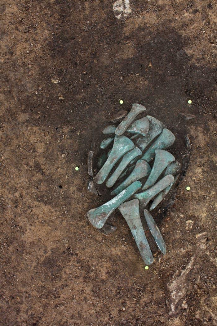 Diese Beile aus Bronze