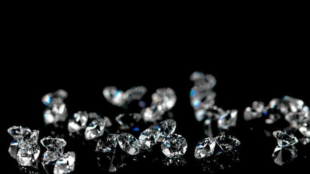 Diamanten kommen in speziellen Seifen vor